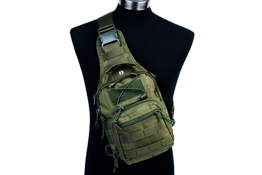 Рюкзак на одной лямке Military Molle Tactical Hiking (600D)  код AS-BS0018OD