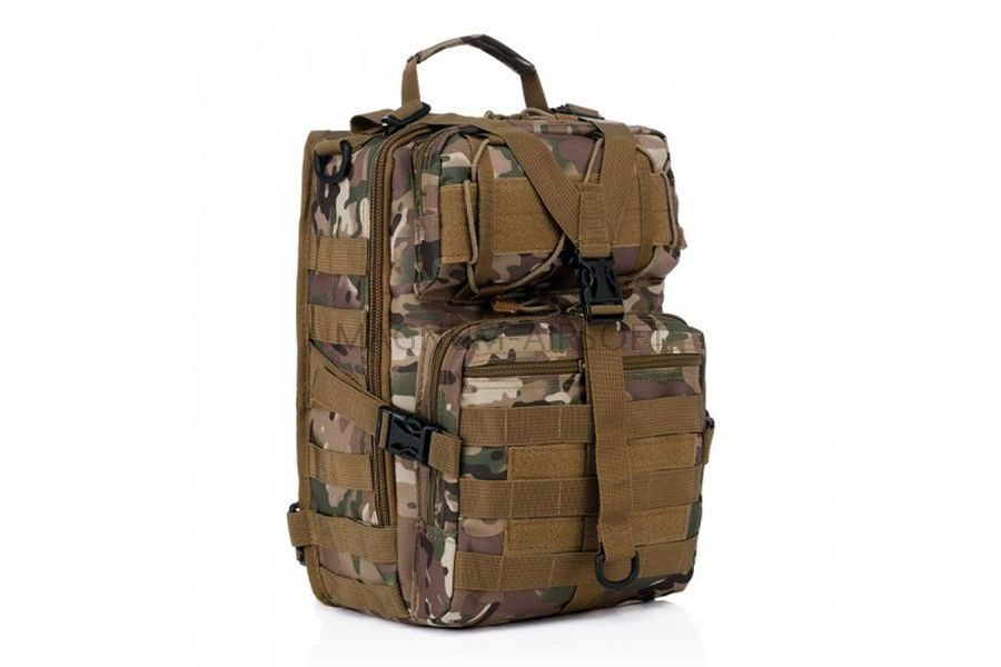 Рюкзак на одной лямке Military Tactical Travel 25х18х8cm AS-BS0059CP