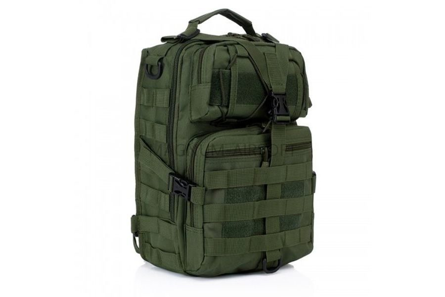 Рюкзак на одной лямке Military Tactical Travel 25х18х8cm AS-BS0059OD