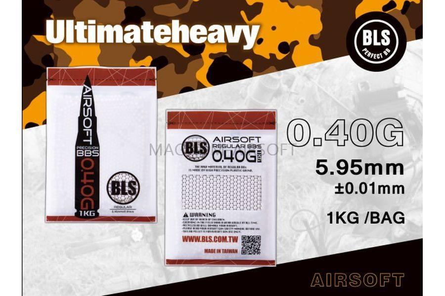 Шарики BLS 0,40  (1кг, слоновая кость, пакет)  Taiwan 1KG-H40IV ITEM NO: 641060039