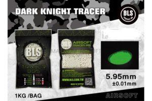 Шарики BLS трассирующие 0,25  (1кг, зеленые, пакет)