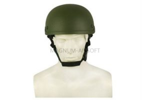 ШЛЕМ ПЛАСТИКОВЫЙ Airsoft Replica Military MICH TC 2001 ACH WS20354G AS-HM0002OD