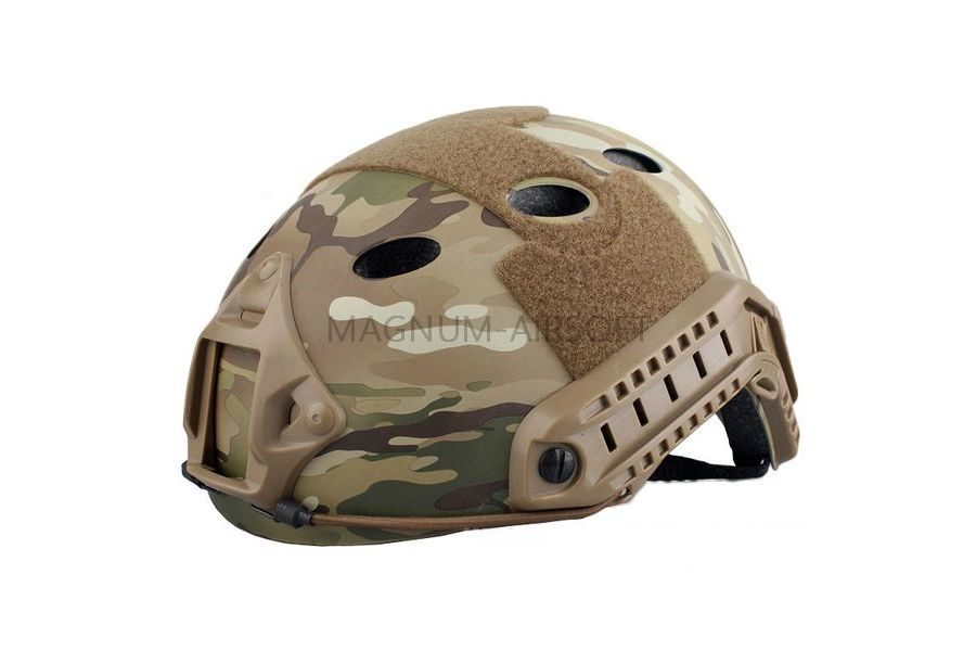 ШЛЕМ ПЛАСТИКОВЫЙ EMERSON FAST Helmet PJ TYPE Light version c рельсами FMA AS-HM0118CP