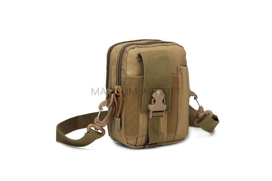 СУМКА НАПЛЕЧНАЯ Tactical Molle Small 17x12x9cm AS-BS0067T
