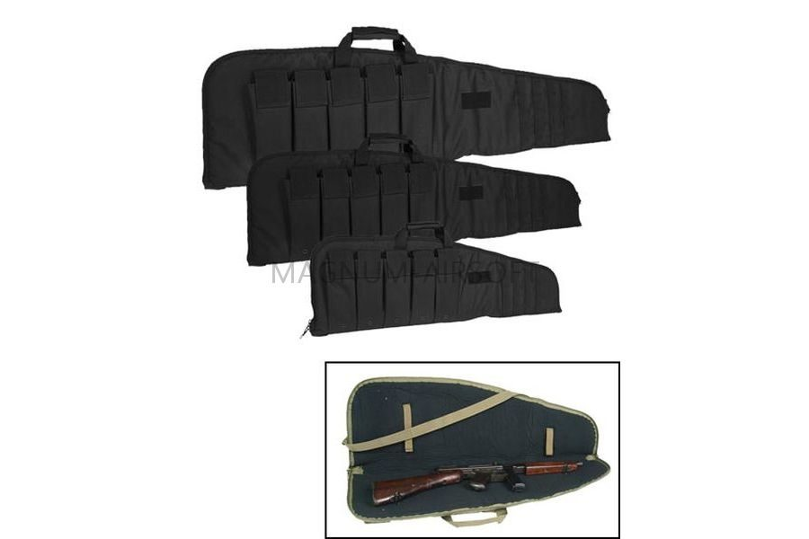 Чехол оружейный SCHWARZ 140CM, 5 подсумков, решетка molle, код Sturm 16191002-904