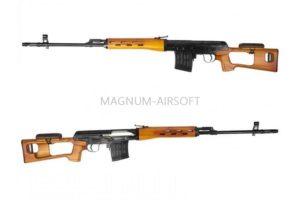 Снайперская винтовка SVD Spring (BK) AY-A0015